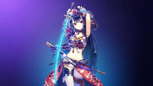 [4K UHD] Oni Girl by AssassinWarrior