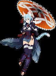 Umbrella Sinon Vector by AssassinWarrior