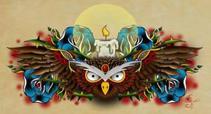Owl by sickfuck76