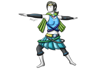 Active Hero Wii Fit Trainer by freqrexy