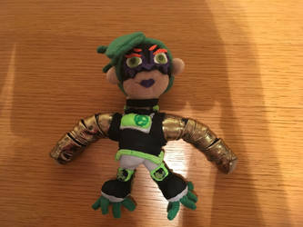 Plush Commission: Dr. Coyle by freqrexy