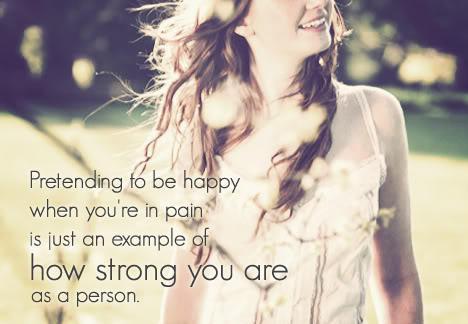 Sad But Pretending Happy Quotes 21 By Mixergirl333 On Deviantart