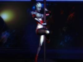 Liara's new job by LoversLab