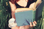 Books and Tea by pinkparis1233
