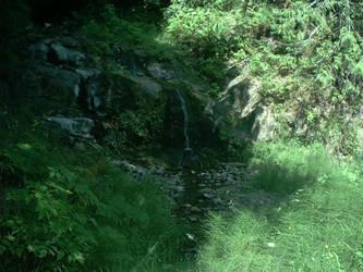 Roadside Waterfall - Forks WA by RC-ForksWA