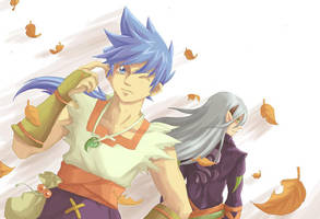 fanart Ryu and Fou Lu BoF  4 by Himenyuu