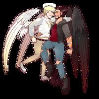 NovaHD : Angel n Demon by Kari-Is-Expl0ring