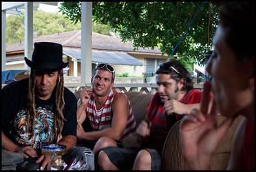 Aloha Oahu Summer 2011 - 6 by ryangallagherart