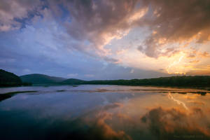 Susquehanna Sunset by ryangallagherart