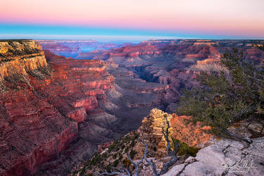 Dawn Approaches at Yaki Point by ryangallagherart