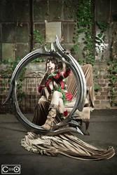 Riddle aka Riki LeCotey as Tira from Soul Calibur by moshunman
