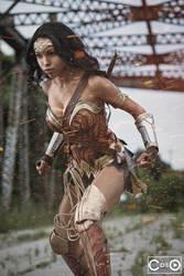 CutiePieSensei as Wonderwoman by moshunman