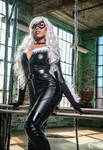 CutiePieSensei as Black Cat by moshunman