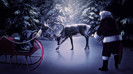 Rudolph does not want to work by AndreaMozer