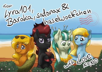 Galabuddies 2018 - Vendor Table Banner by haselwoelfchen