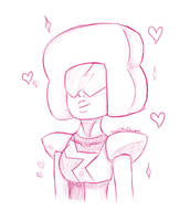Garnet Sketch (SU) by KarolaTheDragon