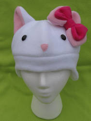 Kitty with Bow Hat by xXForeverLostSoulXx