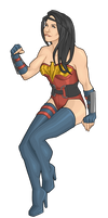 Wonder Woman AGAIN by Orr-Malus