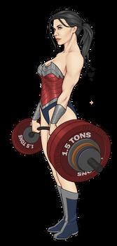 DYEL Wonder Woman by Orr-Malus