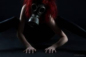 Gasmask photosession 3 by Sierau