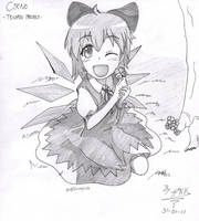 Cirno by Hank88