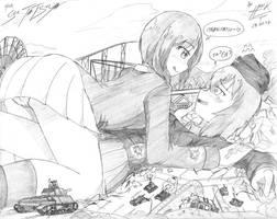 Nishizumi's style by Hank88