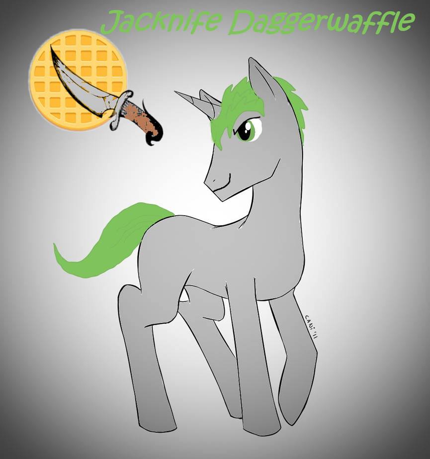 Jacknife Daggerwaffle by wolfin22