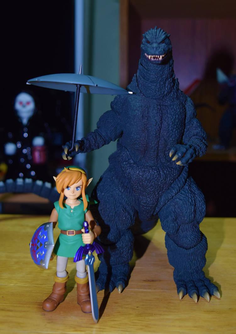 my neighbor Godzilla by wolfin22