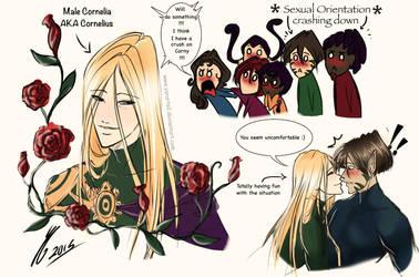 Cornelia Hale Gender Bend (Cornelius) by YarArts2