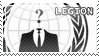 Anonymous Stamp - Legion by Mihaii
