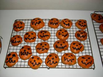 Pumkin flavoured cookies by Wollfisch