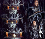 Veck'Tak and the Klingon Weapon He Custom-Crafted by Empress-XZarrethTKon