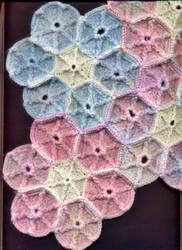 Bed Spread I Started Crochetting {HEXAGON STITCH} by Empress-XZarrethTKon