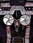 Quo'Vah's Costume: Real Metal Bustier by Empress-XZarrethTKon