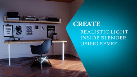Create realisitc lighting inside blender using EVE by huzzain