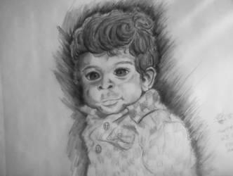 Portrait-My nethew by TheMLT