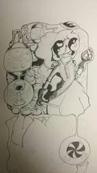 Princess bubblegum ink by TheMLT