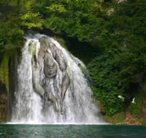 Secret Waterfall by Sagitarii