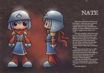 Young Nate model sheet by boltim