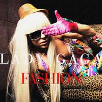 Lady Gaga Fashion Single Cover by djroxx13