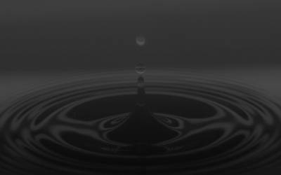 Water Drop Graphite by Epheus