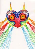 Majoras Mask by Verayannina
