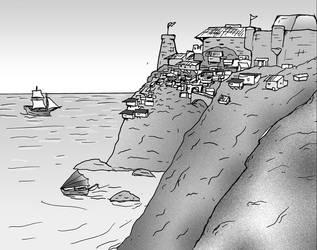 Sea Castle by jay042