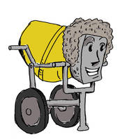 I'll Draw Your Characters as Cement Mixers by jay042