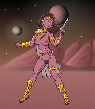 Dejah Thoris by jay042