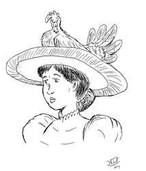 Bird hat by jay042