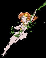 Gwenna on a vine by jay042