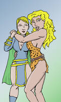 Centennia and Nula by jay042