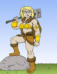 Loganforce Barbra the Barbarian by jay042