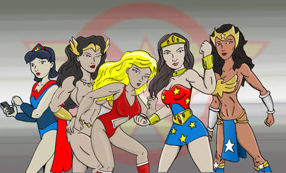 Not Necessarily Wonder Woman by jay042